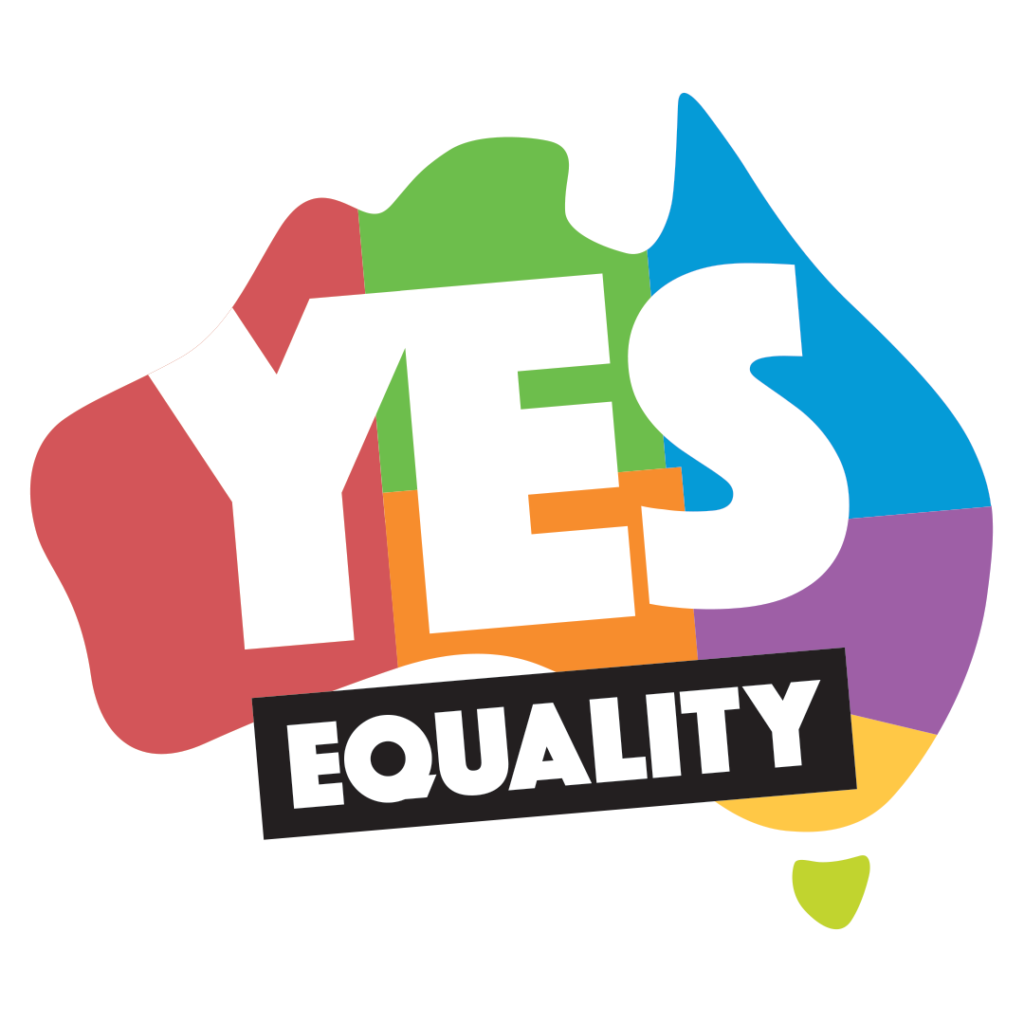yes equality logo - same sex wedding celebrant byron bay